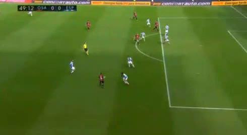 هدف أول ل أوساسونا (روبيرتو توريس)
