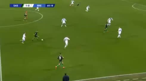 هدف ثاني ل ساسولو (فرانشيسكو كابوتو)