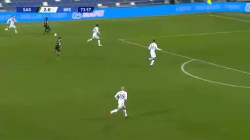 هدف ثالث ل ساسولو (جيريمي بوجا)