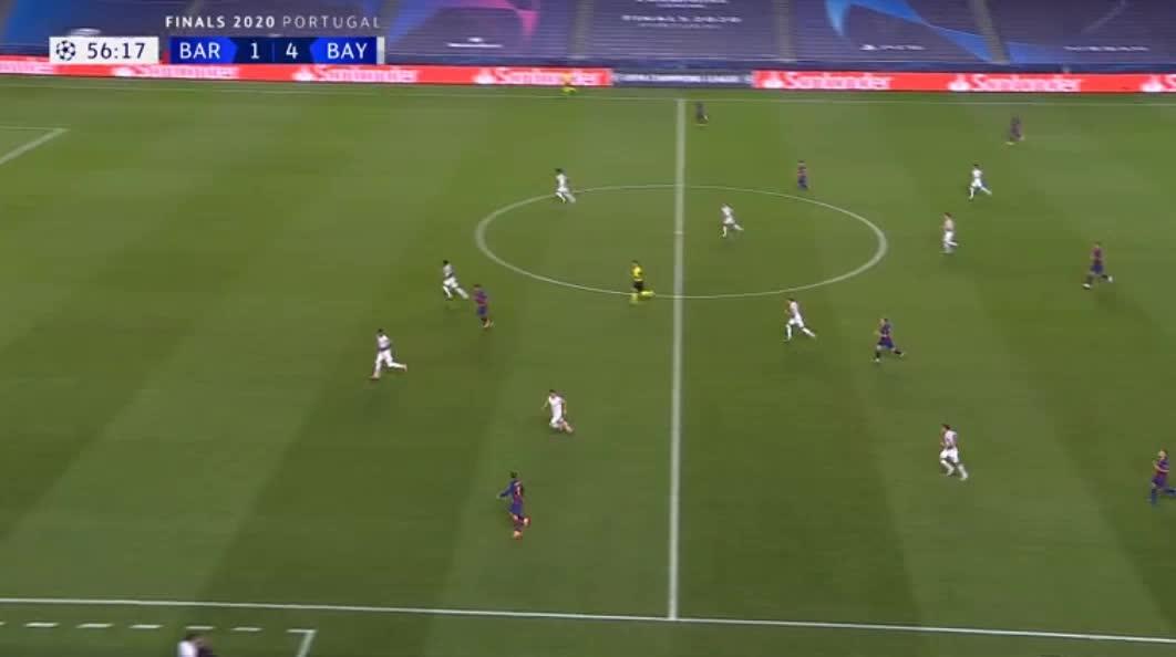 هدف ثاني ل برشلونة (لويس سواريز)